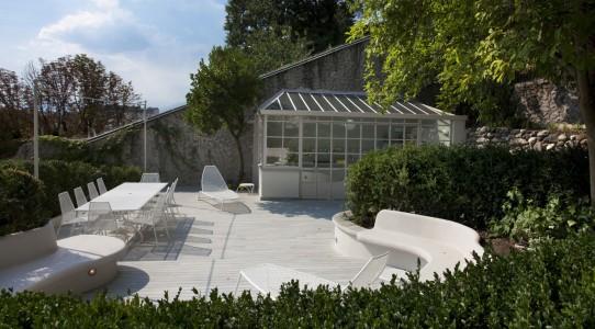 Serra-cucina in giardino classico | Giardino Segreto