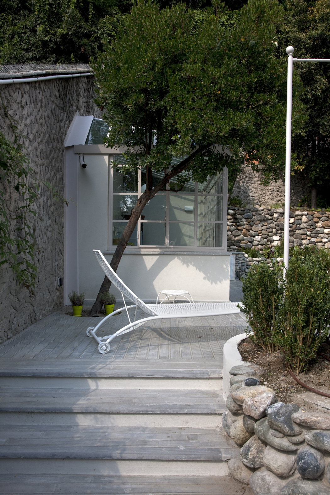 Serra cucina in giardino classico giardino segreto - Cucina giardino ...