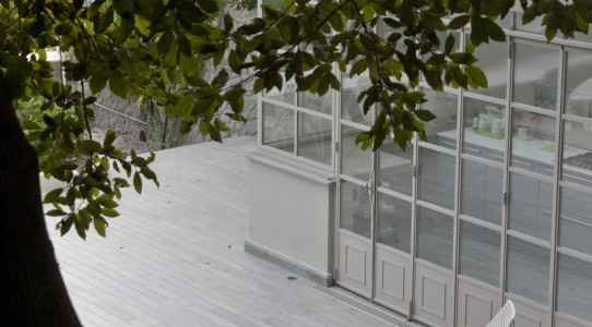 Serra con cucina in giardino_16