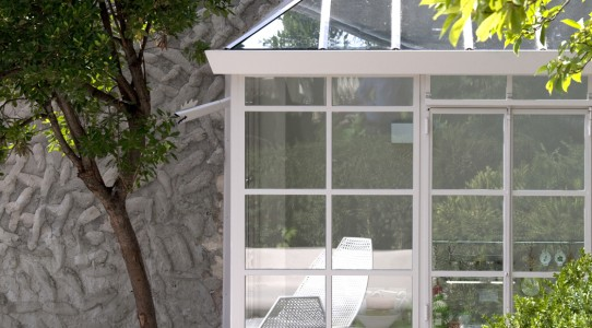 Serra con cucina in giardino_12